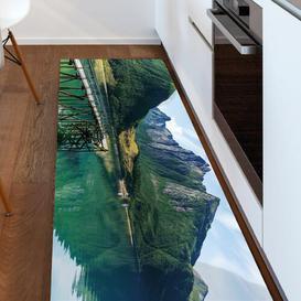 image-Vinyl NR03 Quiet Kitchen Mat Ebern Designs Mat Size: Runner 50 x 120cm
