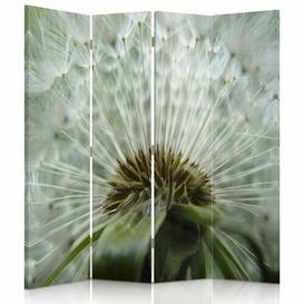 image-Vizcaino 4 Panel Room Divider Mercury Row
