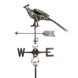 image-Folkston Pheasant Crowing Weathervane Sol 72 Outdoor