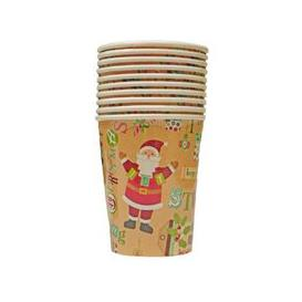 image-Christmas Paper Cup 10 Pack