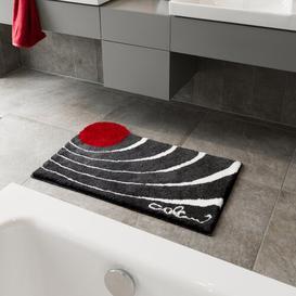 image-Colani Bath Mat Grund Size: 80 x 150cm, Colour: Anthracite