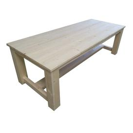 image-Ansley Wooden Dining Table Union Rustic Size: 76cm H x 240cm L x 100cm W