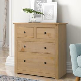 image-Anns 4 Drawer Chest Three Posts
