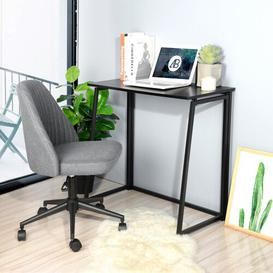 image-Reeder Writing Desk Williston Forge Colour (Top/Frame): Black