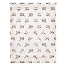 image-Kitchen Oval Sheer Roller Blind Ebern Designs Size: 180cm W x 250cm L