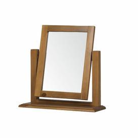 image-Rectangular Dressing Table Mirror Natur Pur