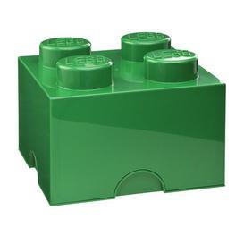 image-Brick Toy Box LEGO Finish: Green