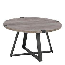 image-Bowden Coffee Table Williston Forge Colour: Grey Wash