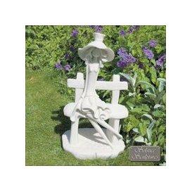 image-Solstice Sculptures Florence Garden Ornament Statue White
