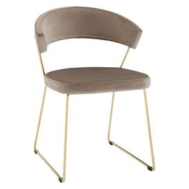 image-Connubia by Calligaris New York Velvet Dining Chair