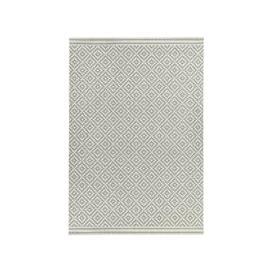 image-Asiatic Carpets Patio Machine Woven Rug Diamond Grey - 160 x 230cm