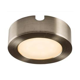 image-Hera cct LED single under cabinet light in satin nickel - 86713.