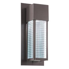 image-KL/SOREL2/M LED Sorel 1 Light Outdoor LED Wall Light In Architectural Bronze