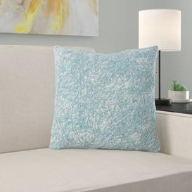 image-Coll Cushion Lily Manor Colour: Light Jade