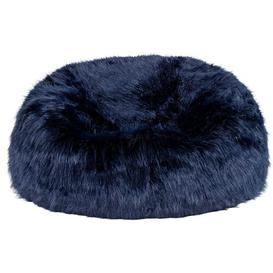 image-Classic Bean Bag Canora Grey Upholstery Colour: Navy Blue
