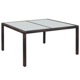 image-Frits Dining Table Sol 72 Outdoor Size: 75cm H x 90cm W x 150cm D