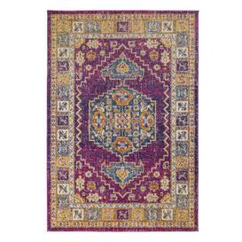 image-Urban Traditional Rug Pink, Yellow and Blue