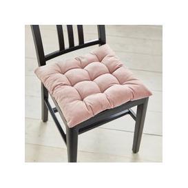 image-Cotton Velvet Blush Seat Pad Blush