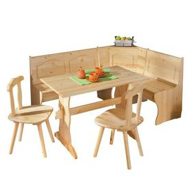 image-Wamsutter Corner Dining Set with 2 Chairs and Storage Bench Union Rustic