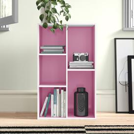 image-Salmeron Cube Unit Bookcase Zipcode Design Colour: White/Pink
