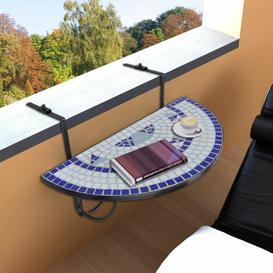 image-Arana Folding Iron Balcony Table Sol 72 Outdoor