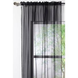 image-Pair of Voile Curtains