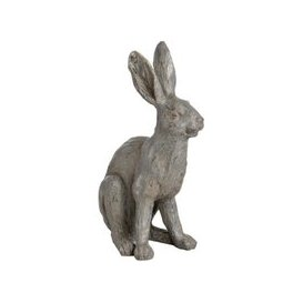 image-Hill Large Metallic Hare Statue