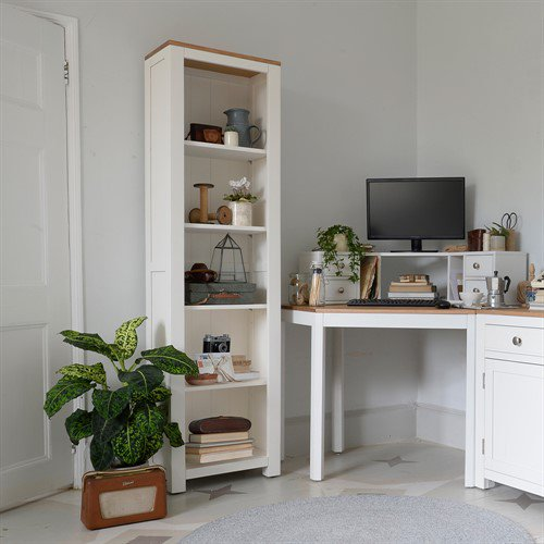 image-Chalford Painted Large Bookcase