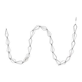 image-A by AMARA Christmas - Pre-Lit Diamond Garland - Warm White