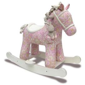 image-Little Bird Told Me Pixie and Fluff Infant Rocking Horse Pink