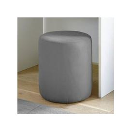 image-Altair Fabric Pouffe In Grey