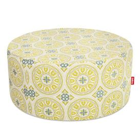 image-PFFFH Pouf - Outdoor / ├ÿ 90 cm by Fatboy Yellow
