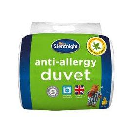 image-Silentnight 4.5 Tog Anti-Allergy Duvet, Single