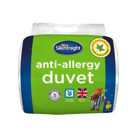 image-Silentnight 4.5 Tog Anti-Allergy Duvet, Single
