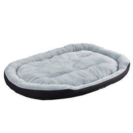 image-Geneva Classic Dog Bed Archie & Oscar Colour: Black/Grey, Size: Extra-large: 120cm W x 150cm D x 23cm H