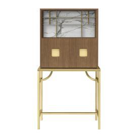 image-GHIDINI 1961 - Zuan Tall Cabinet - Light Oak