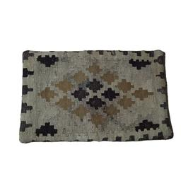 image-Saige Kilim Handwoven Outdoor Wool Cushion Cover
