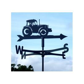image-Big Green Tractor Weathervane - Traditional