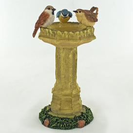 image-Bird Bath Lugenia Figurine Brambly Cottage