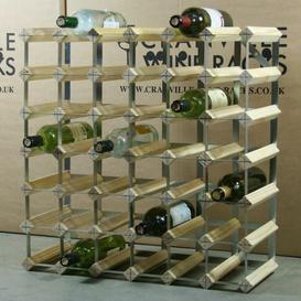 image-Liddle 42 Bottle Wine Rack Wrought Studio