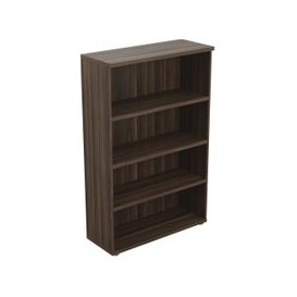 image-Viceroy Tall Bookcase, Oak, Free Delivered & Fully Installed Delivery