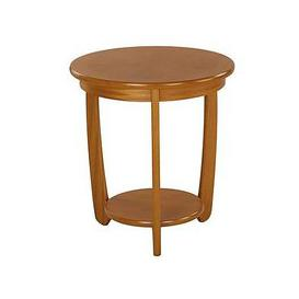 image-Nathan - Shades Sunburst Top Round Lamp Table - Brown