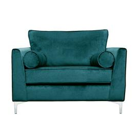 image-Giancarlo 2 Seater Loveseat Fairmont Park Upholstery Colour: Teal