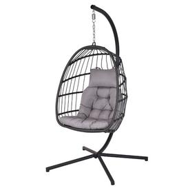 image-Kyla Swing Chair with Stand Freeport Park