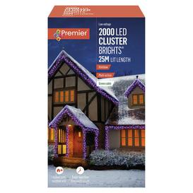 image-Premier 2000 Multi-function Christmas LED Lights - 10m