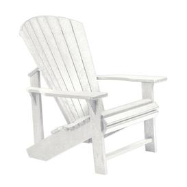 image-Lomba Lounge Chair Dakota Fields Frame Finish: White