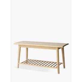 image-House by John Lewis Bamboo Shoe Bench