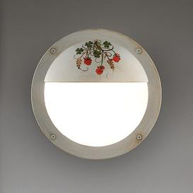 image-Myra 1-Light Flush Mount August Grove