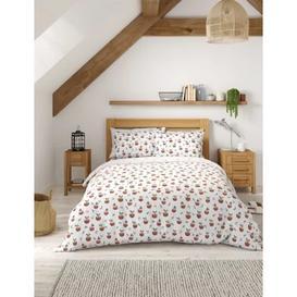image-M&S Cotton Mix Christmas Pudding Bedding Set - 5FT - Multi, Multi
