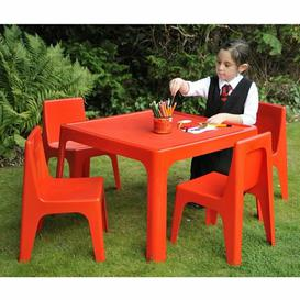 image-Marley Children's 5 Piece Square Table and Chair Set Isabelle & Max